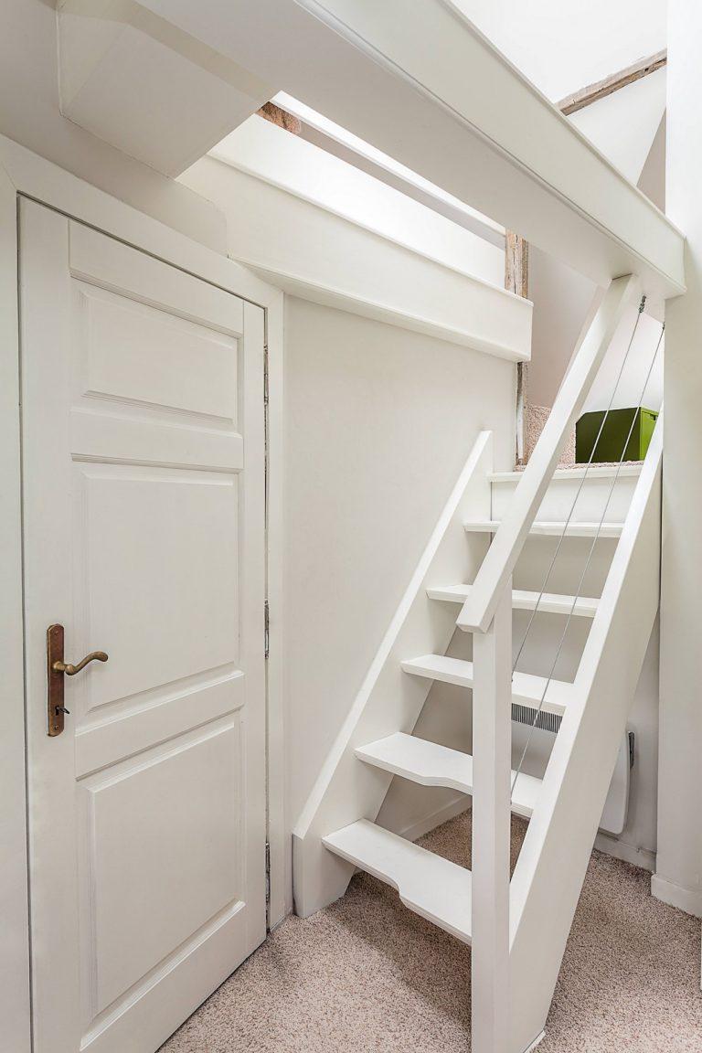Les emplacements spécifiques d'escalier