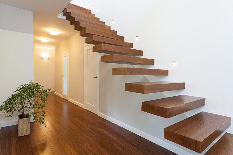 L'escalier auto-portant