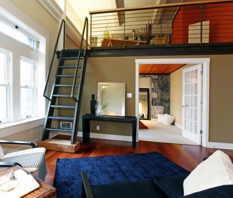 Escalier pour mezzanine