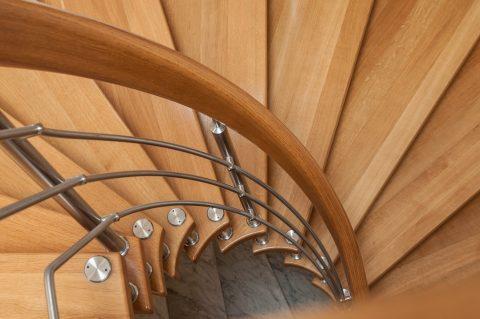 Zoom sur les escaliers amovibles