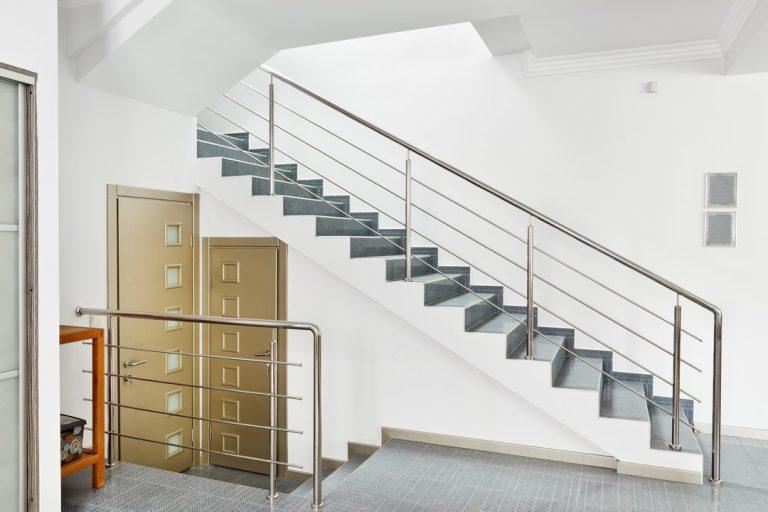 Zoom sur l'habillage d'escalier