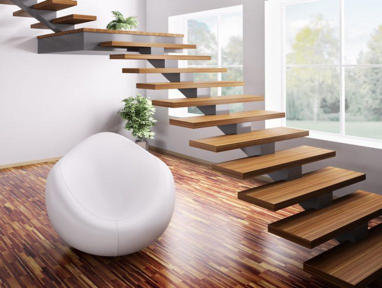 L'installation d'escaliers modernes